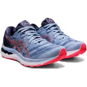 asics Gel-Nimbus 23 Shoes Women mist/blazing coral